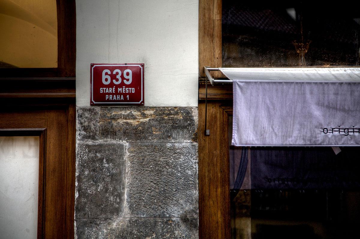 Prague Building Number