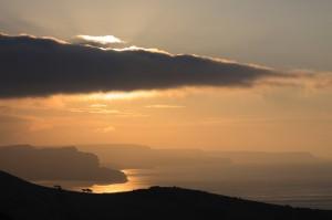 Sunrise Over St Aldhelm's Head