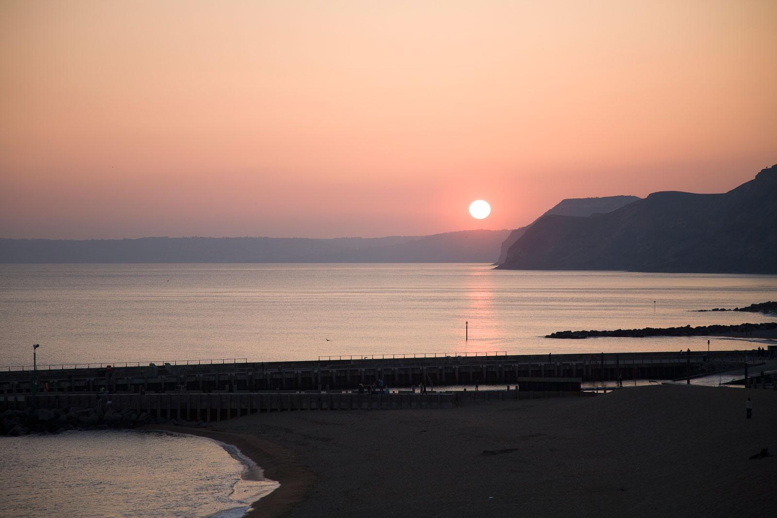 Lyme Bay Sunset