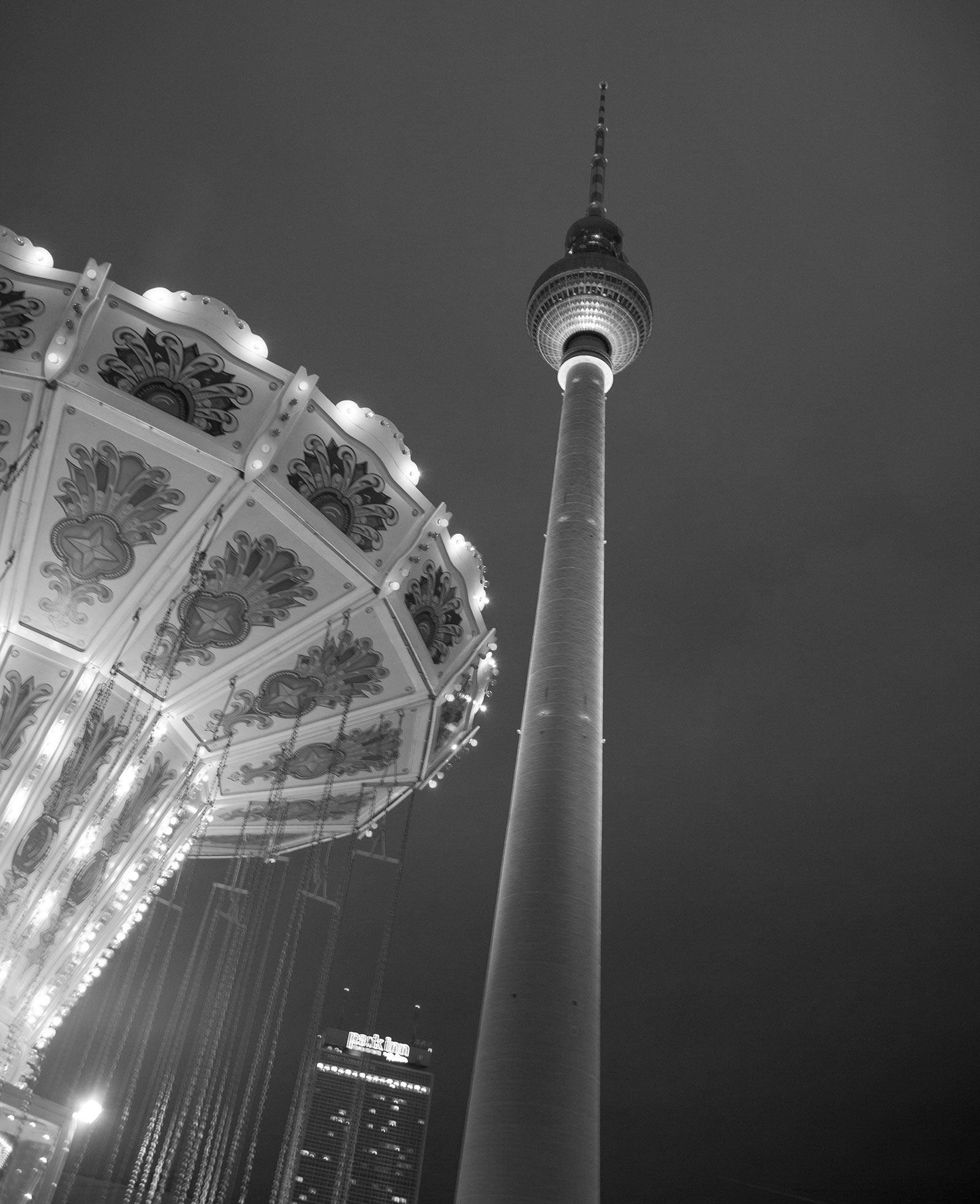 Tower and Carousel, Berlin